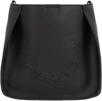 Stella McCartney Perforated Logo Square Shoulder Bag