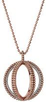 "Links of London Diamond & 18K Rose Gold Pendant Necklace, 31"""