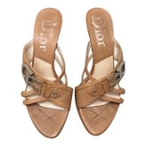Christian Dior Camel Mules From Size 36