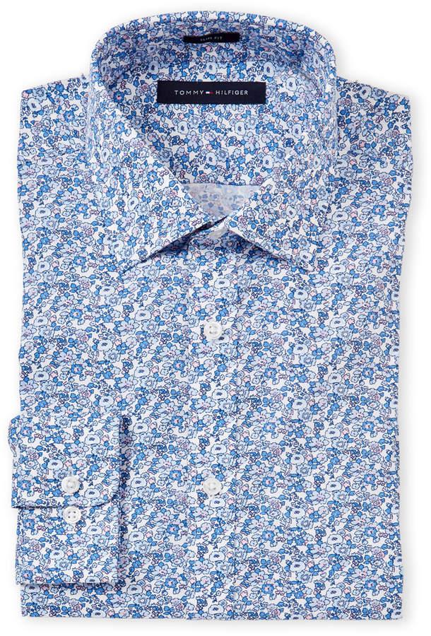 049207d2a Tommy Hilfiger Slim Dress Shirt - ShopStyle