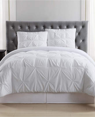 Truly Soft Pleated King Duvet Set Bedding
