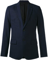 Ami Alexandre Mattiussi lined 2 button jacket - men - Cupro/Wool - 46