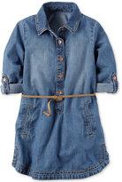 Carter's Belted Denim Shirtdress, Toddler Girls (2T-4T)
