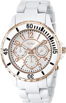 XOXO Women's XO5596 Rosegold-Tone Bracelet Analog Watch