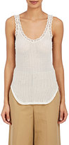 Helmut Lang Women's Cotton Mixed-Stitch Tank