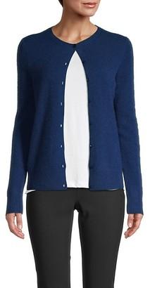 Saks Fifth Avenue Cashmere Buttoned Cardigan