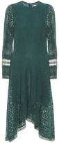 See by Chloe Asymmetric lace midi dress