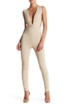 Wow Couture Caged Bodycon Jumpsuit