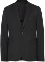 Ami - Black Slim-fit Wool Suit Jacket