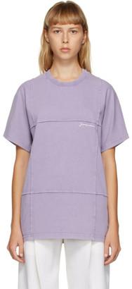 Jacquemus Purple Le T-Shirt Carro T-Shirt