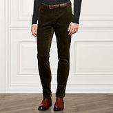 Ralph Lauren Purple Label Slim Stretch Corduroy Pant