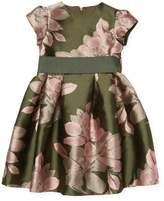 Il Gufo Floral Crewneck Dress