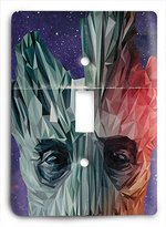 Single Light Switch Cover Groot - Guardians of the Galaxy Light Switch