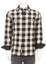 Rag & Bone Jack Check Button Down Shirt