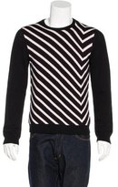 CNC Costume National Striped Wool Sweater