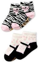 Juicy Couture Newborn Girls) 2-Pack Socks