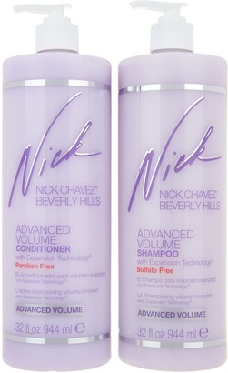 Nick Chavez Advanced Volume Sulfate Free Shampoo & Conditioner
