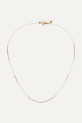 Poppy Finch 18-karat Gold Beaded Necklace