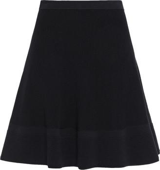 Moschino Flared Stretch-knit Mini Skirt