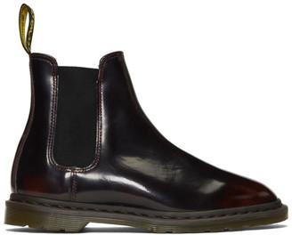Dr. Martens Burgundy Graeme II Chelsea Boots