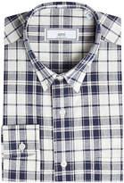 Ami Cotton Plaid Shirt