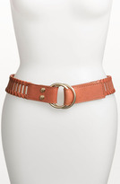Vince Camuto Double Pull Back Leather Belt