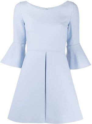 Valentino Flared Sleeves Mini Dress