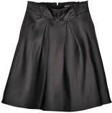 Zac Posen Black Silk Skirt for Women