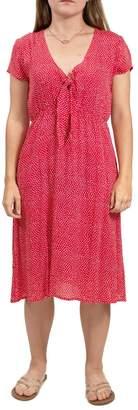 Volcom Cap Sleeve Dress