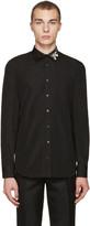 Alexander McQueen Black Butterfly Shirt