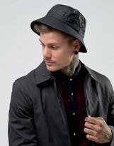 Barbour Wax Bucket Hat In Black