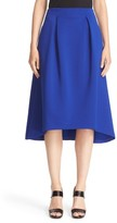 Armani Collezioni Women's Bonded Neoprene High/low Skirt