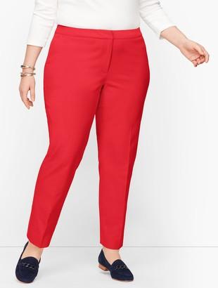 Talbots Plus Size Hampshire Ankle Pants - Curvy Fit