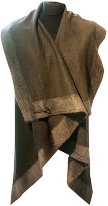 Nicole Farhi Khaki Wool Coats