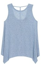 Bobeau Montana Stripe Scoop Neck Tank.