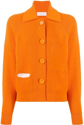 Christian Wijnants Long-Sleeve Knitted Cardigan