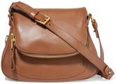 Tom Ford Jennifer Medium Textured-leather Shoulder Bag - Brown