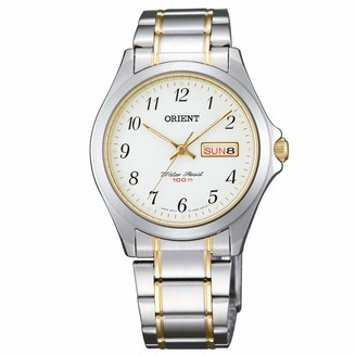 Orient Women's Analogue Quartz Watch with Stainless Steel Strap FUG0Q003W6
