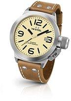 TW Steel Men's CS12 Analog Display Quartz Brown Watch