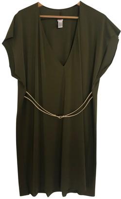Eres Khaki Synthetic Dresses
