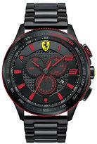 Ferrari Men's Scuderia XX Black & Red Watch