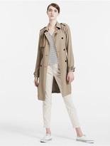 Calvin Klein Trench Twill Coat