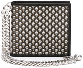 Alexander McQueen mini skull wallet - men - Calf Leather - One Size