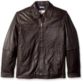 Perry Ellis Men's Tall 27 Inch Lamb Leather