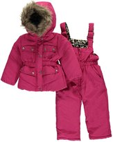"Steve Madden Baby Girls' ""Snow Leopard"" 2-Piece Snowsuit"