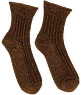POLDER GIRL Riff Lurex Wool and Linen Socks