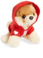Gund Infant Itty Bitty Boo Red Heart Hoodie Stuffed Animal