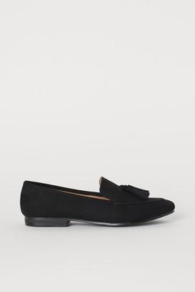 H&M Tasseled Loafers - Black