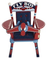 Levels of Discovery Fly Boy Airplane Rocker - Red