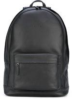 Pb 0110 front pocket backpack - unisex - Leather - One Size